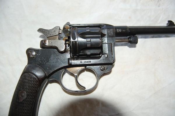 Le revolver mod le 1892 de la manufacture de saint etienne - La manufacture saint etienne ...